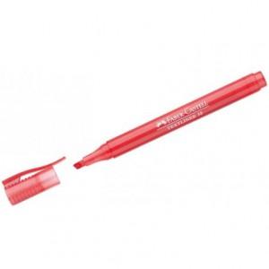 Rotulador Faber Castell fluorescente Textliner 38 rojo