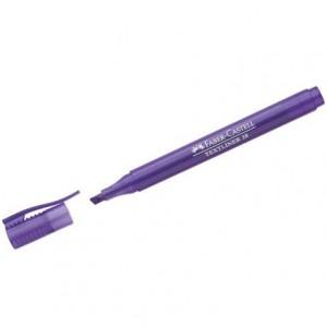 Rotulador Faber Castell fluorescente Textliner 38 violeta