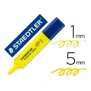 Rotulador Staedtler Textsurfer Classis 364 Fluorescente Color Amarillo