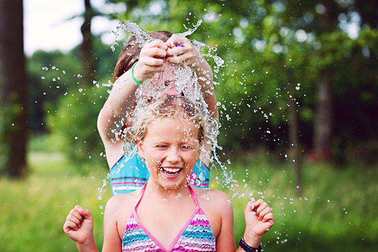 Juegos de jardín divertidos para agua