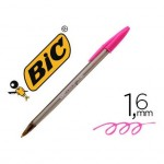 Boligrafo Bic Cristal Fun 1,6 mm Color Rosa