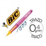 Boligrafo marca Bic kids BP Twist niña tinta azul