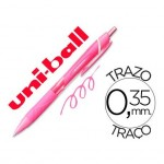 Boligrafo marca Uni-Ball roller SXN157C Jetstream color rosa 0,35 mm