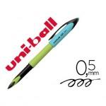 Boligrafo marca Uni-ball Roller Air Micro UBA-188E verde lima tinta negra 0,5 mm
