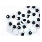 Ojos moviles autoadhesivos moviles 15 mm itKrea