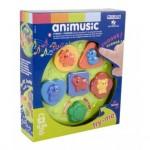 Juego para bebes a partir de 1 año Animusic Miniland