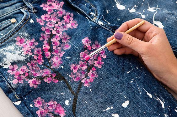 Trucos útiles para pintar en tela