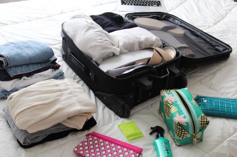 Consejos para organizar tus maletas de cabina