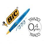 Boligrafo marca Bic kids BP Twist niño tinta azul