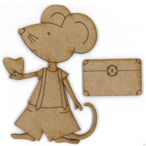 Cómo hacer la puerta Ratoncito Pérez con cartón pluma