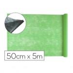 Entretela Liderpapel 25g m2 rollo de 5m Verde