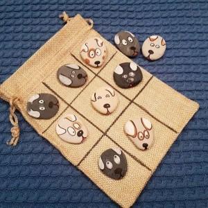 Materiales para juegos con piedras pintadas