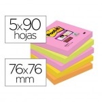 Pack de 5 blocs de Post-it ® 76 x 76 mm