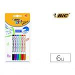 Rotulador Bic velleda Kids para pizarra 2 mm blister de 6 colores surtidos