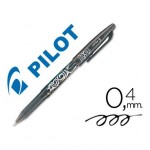 Boligrafo Borrable roller Pilot Frixion 0,4 mm Color Negro
