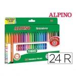 Rotulador Alpino Standard Punta Fina Caja 24 rotuladores