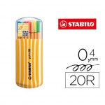 Rotulador Stabilo Point 88 Zebrui Estuche 20 Colores